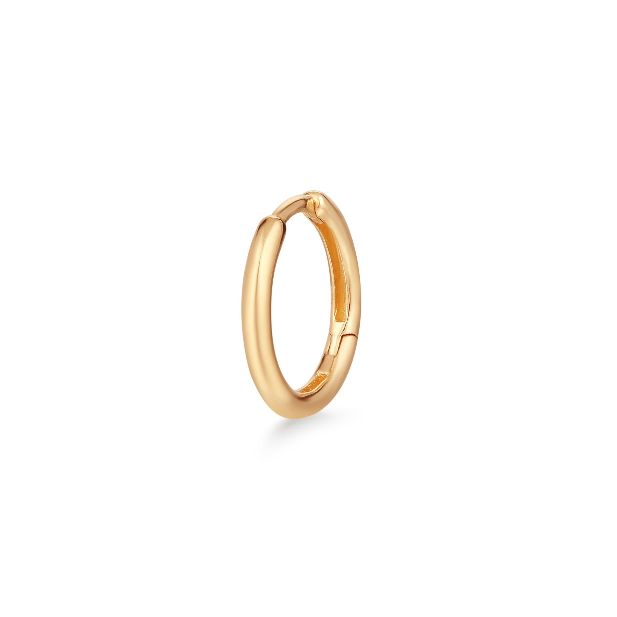 Anna Gold Single Huggie Hoop