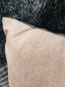 Grey Velvet Pillow