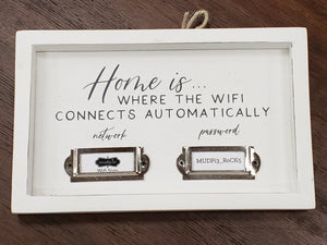 Wifi Sign for Home