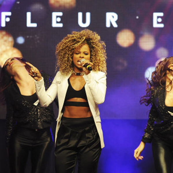 FLEUR EAST PERFORMS IN MAIMIE TROUSERS