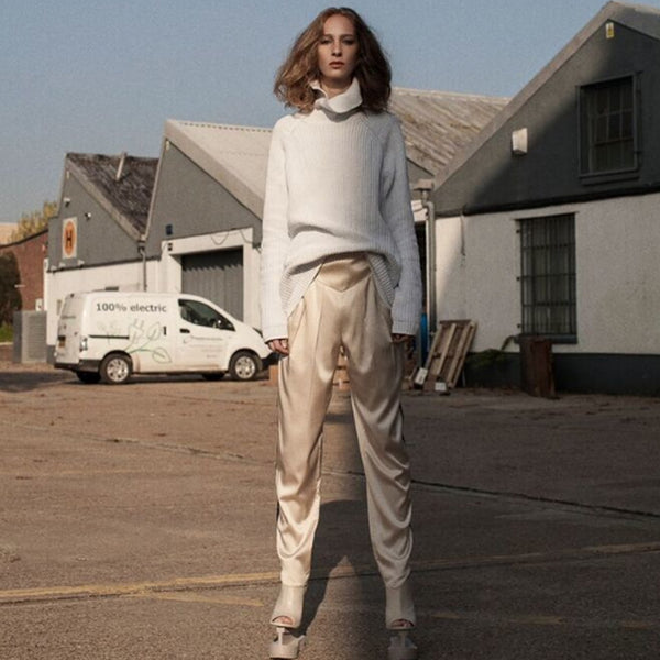 HOW TO: WEAR SILK TROUSERS THIS SEASON