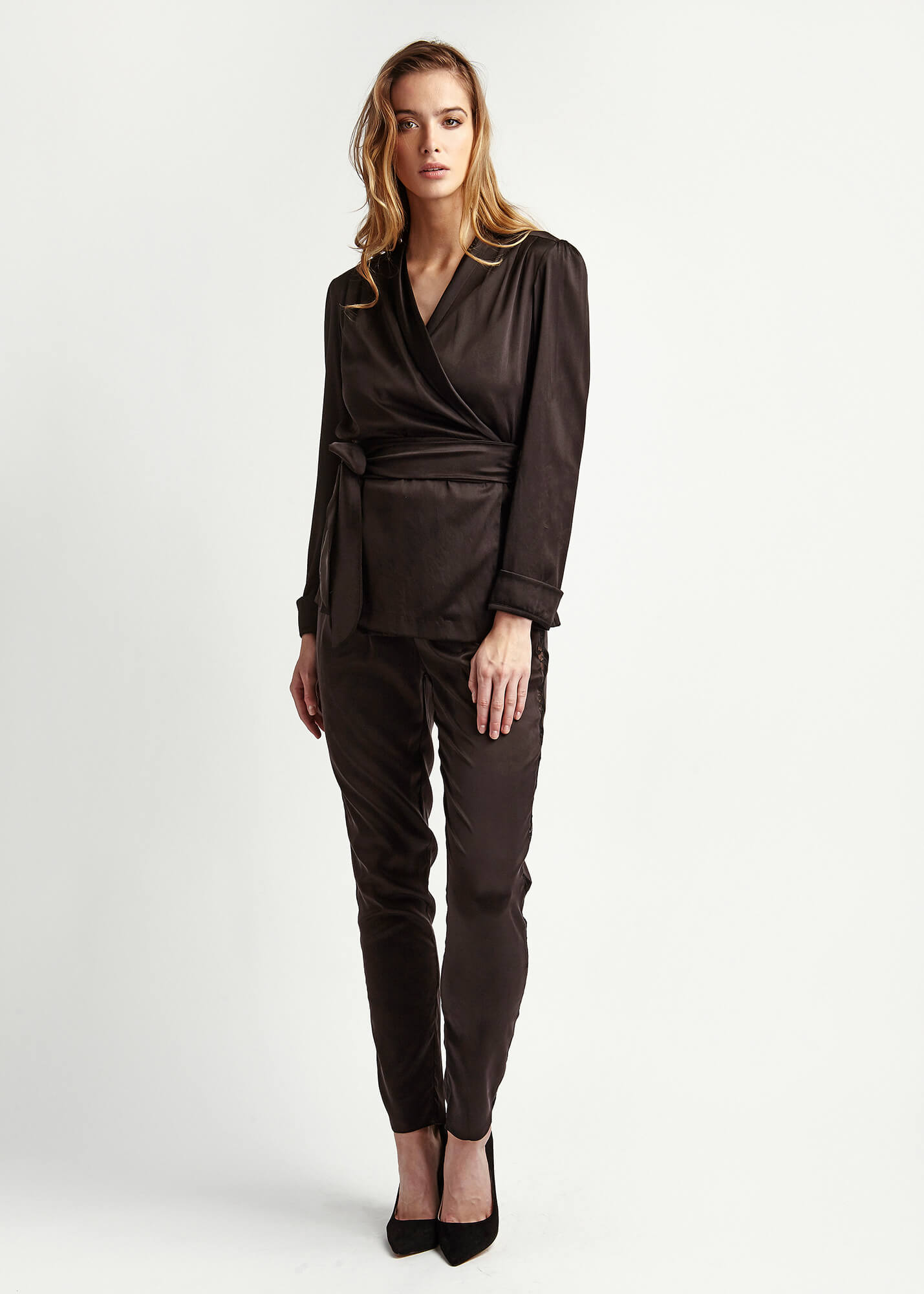 Roxy Dusk Silk Suit