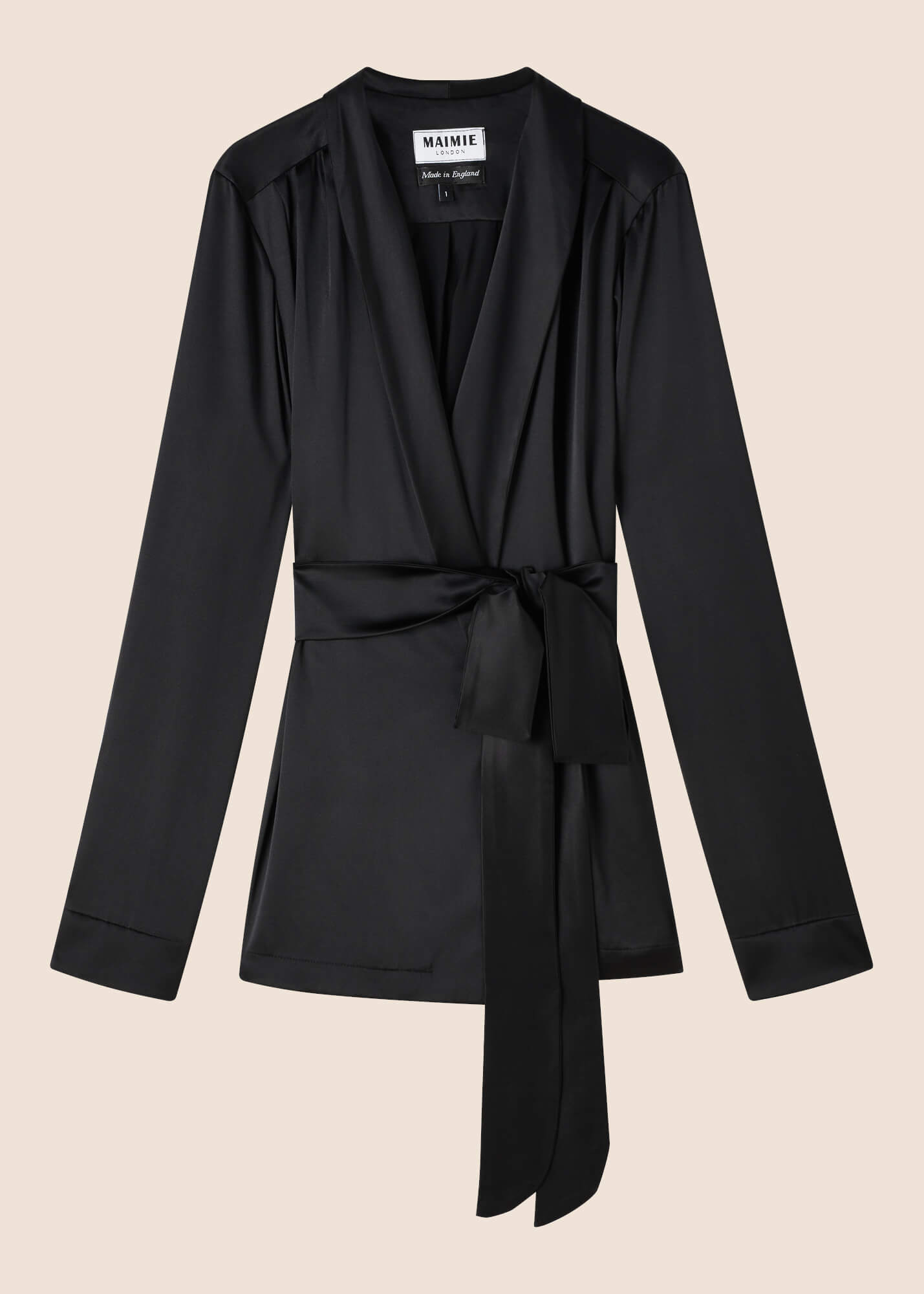 Roxy Ebony Silk Jacket