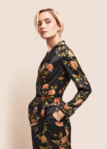 Roxy Flora Silk Jacket
