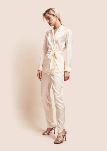 Roxy Pearl Silk Suit