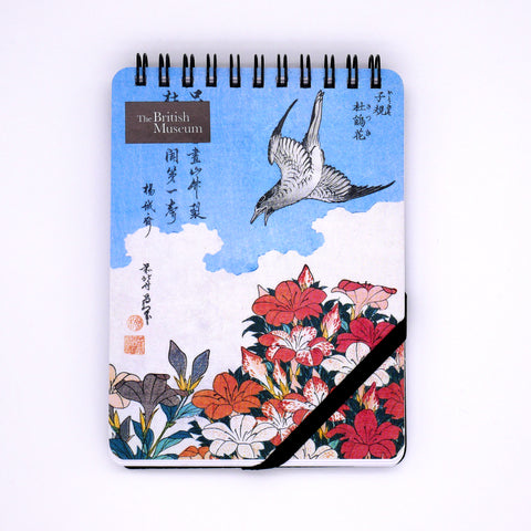 Japanese Birds and Flowers Reporters' Notepad