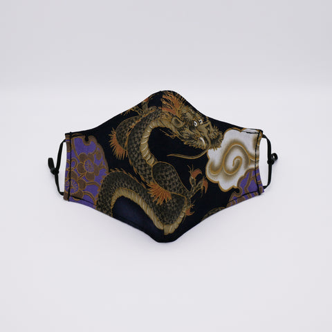 Hand Crafted Dragon Face Mask by Lunalark Design