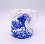 Great Wave Mug - Silvia Earle Quote