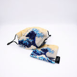 Hokusai Face Mask