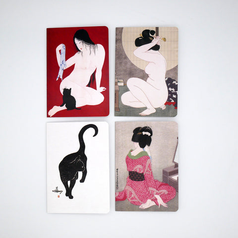 Beauties & Cats Cards (Pack of 4) Online Exclusive