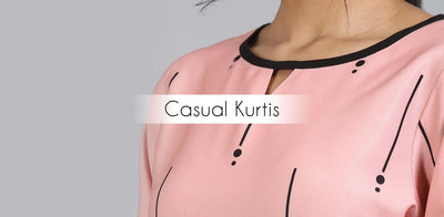Why casual kurtis are most favorite for every woman?