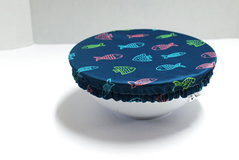 Reusable bowl cover - Fish