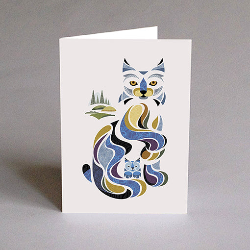 Greeting card - Lori the Lynx