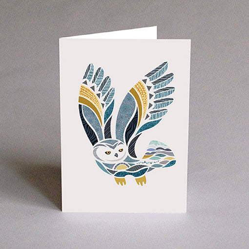 Greeting card - Hugo The Owl