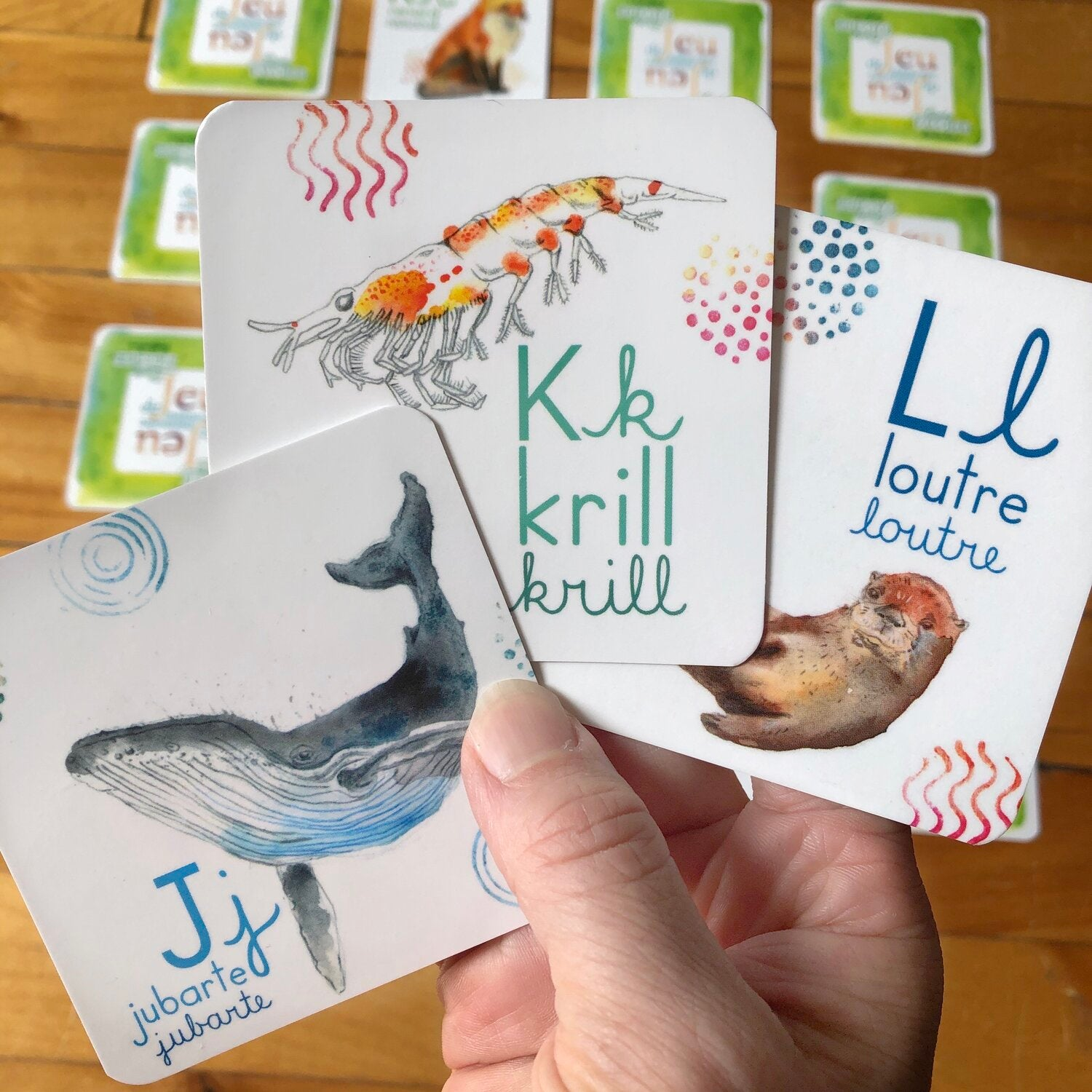 Memory Game - Québec's wildlife alphabet