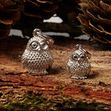 Owl Large Silver 925s