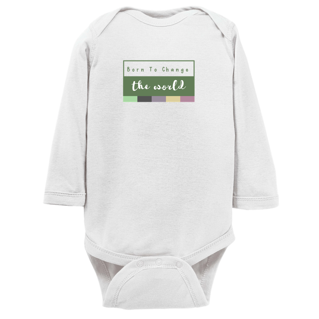 Born to Change the World Long Sleeve Bodysuit