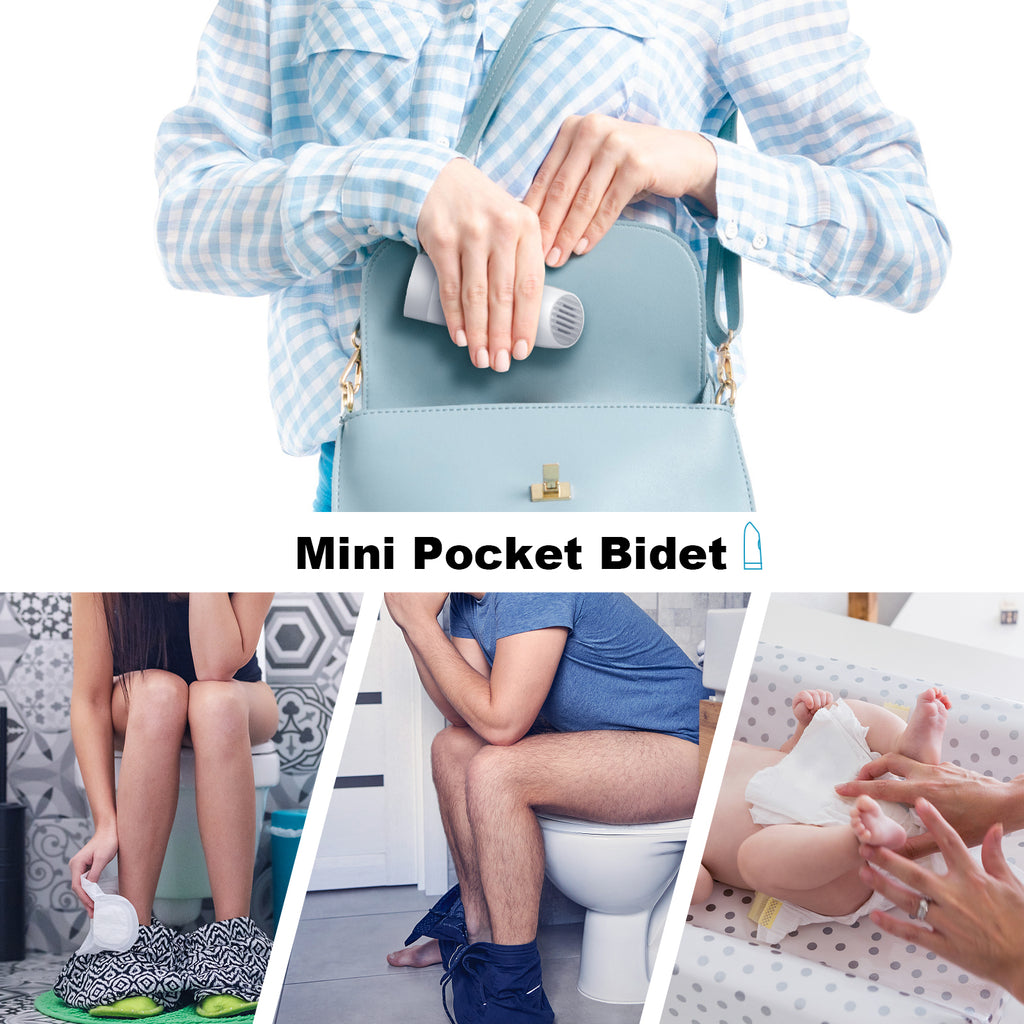 Pocket Portable Bidet for Personal Hygiene Cleaning