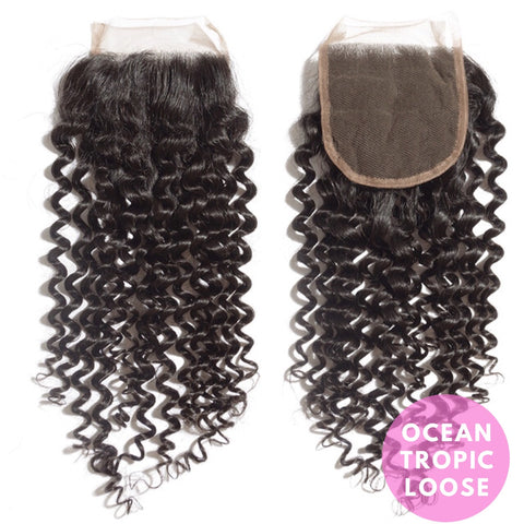 "Tropic ""CURLY"" Closures"