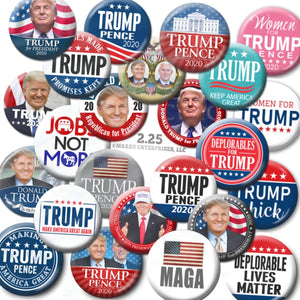 TRUMP 2020 Button Collectable