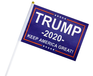Mini Flag TRUMP 2020 KEEP AMERICA GREAT