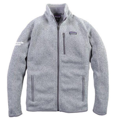 Patagonia adult logo fleece jacket