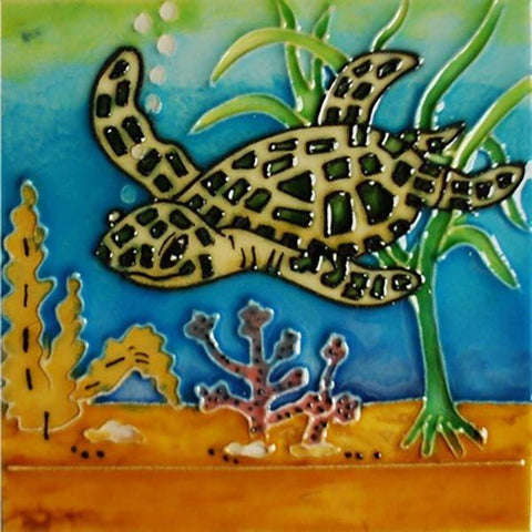 Tile sea turtle small