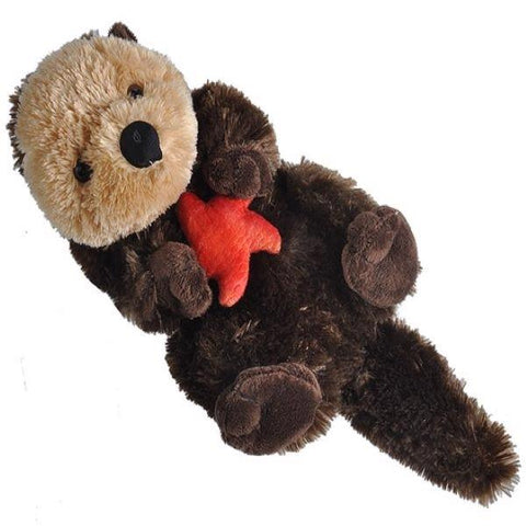 Sea otter plush 12""
