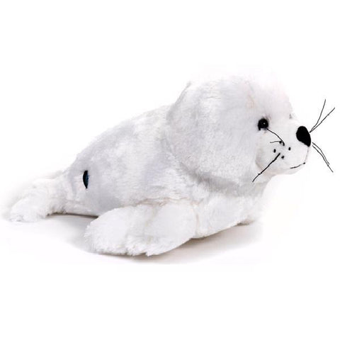 White seal Signature plush 14""
