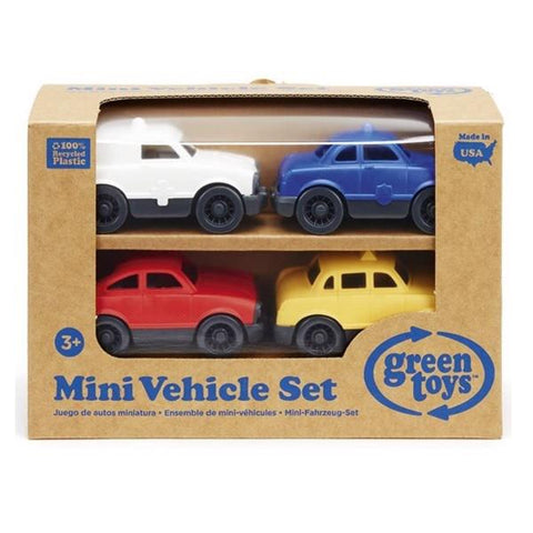 Green Toys mini vehicle 4 pack