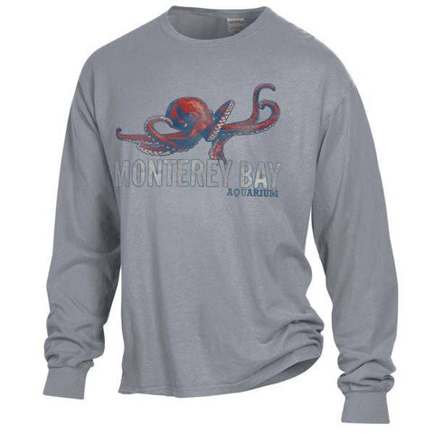 Adult octopus long sleeve tee