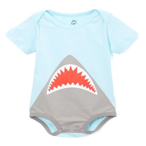 Infant shark onesie