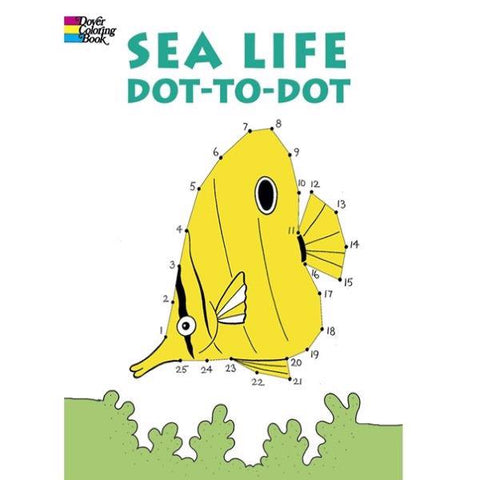 Activity Book Sea Life Dot to Dot