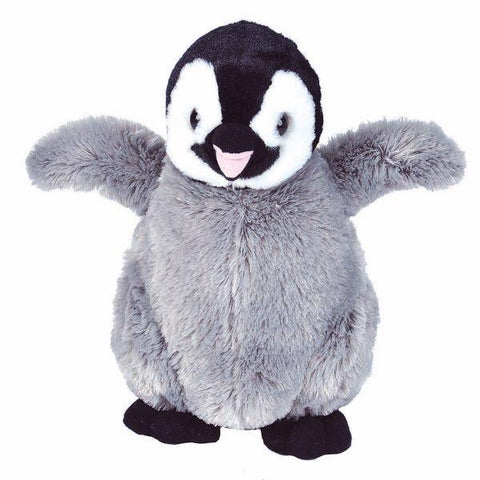 Emperor penguin chick plush 12""