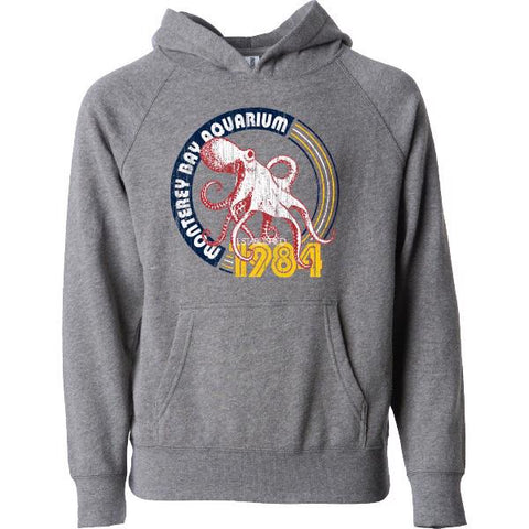 Youth octopus 1984 hooded sweatshirt