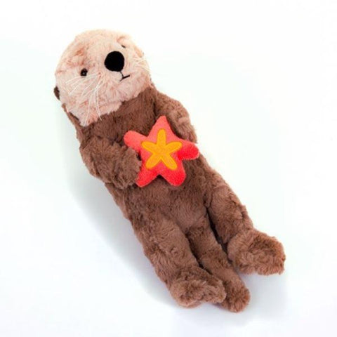 Sea otter with orange star Signature plush 12""