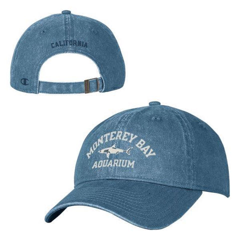 Champion adult blue shark baseball hat