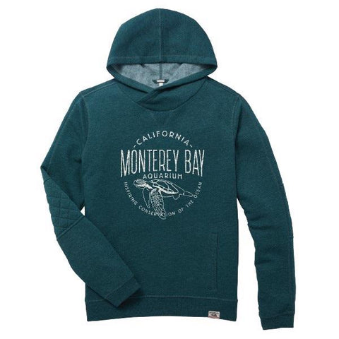 Women's sea turtle hooded sweatshirt