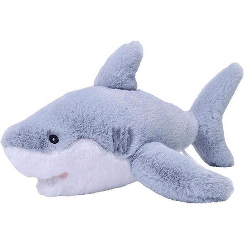 White shark plush by Ecokins