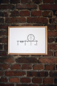 Loher Looping Artprint