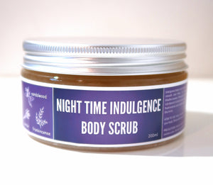 Night time indulgence - Body Scrub