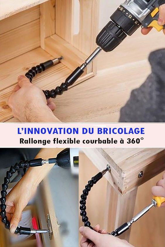 Extension flexible pour visseuse/perceuse