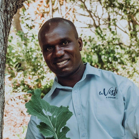 Gardening is my passion, and growing la Food Forest is my specialty - Amos