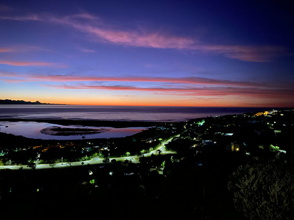 Plettenberg Bay at night