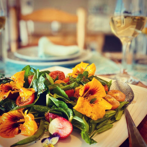 From Garden to table - Homegrown Food at La Vista Lodge