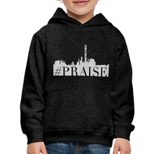 Load image into Gallery viewer, #Praise Kids Premium Hoodie - charcoal gray