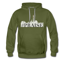 Load image into Gallery viewer, Premium #Praise Hoodie - olive green