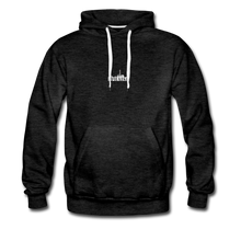 Load image into Gallery viewer, The Recinos Co. Adult Macro #Praise Premium Hoodie - charcoal gray