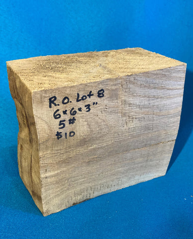 "Red Oak Block RO-8 6"" x 5.5"" x 2.7"""