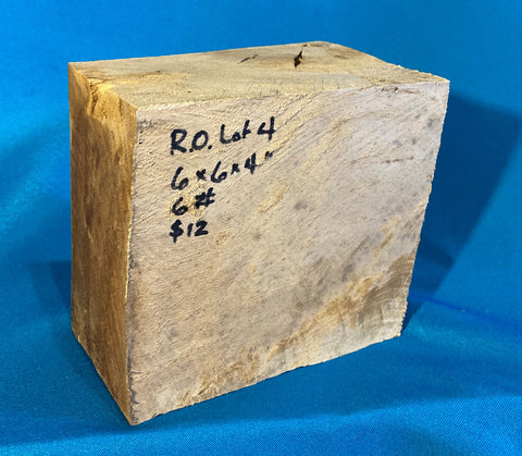 "Red Oak Block RO-4 6"" x 5.5"" x 3.7"""